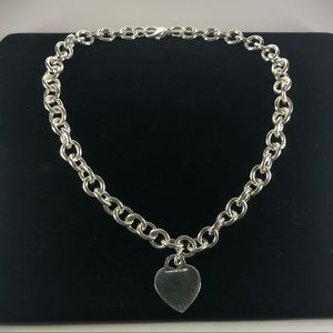 Tiffany & Co Sterling Silver Chain Necklace